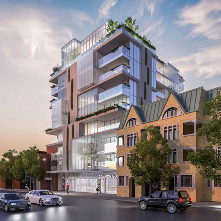 346 Davenport a 10 storey building with 35 luxury suites