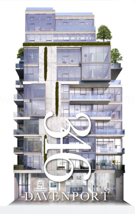 346 Davenport Rd Condos By Freed Developments, Trolleybus Urban Development Inc & RAW Design