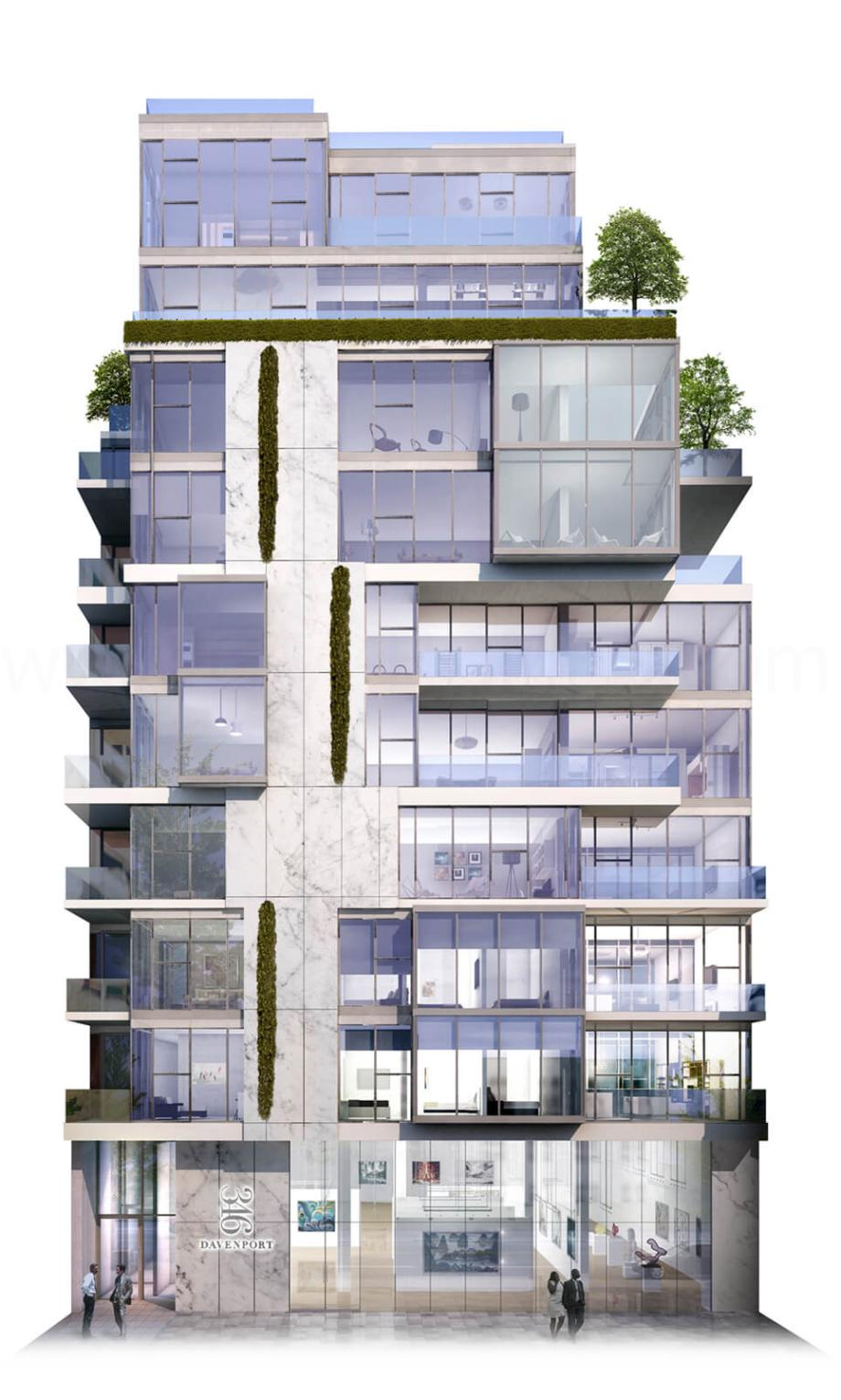 346 Davenport Luxury Condominiums